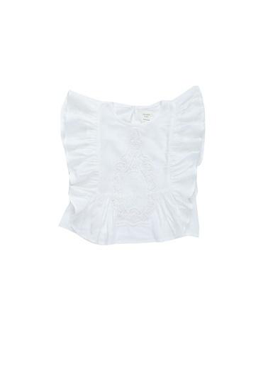 Carrement Beau Bluz Beyaz